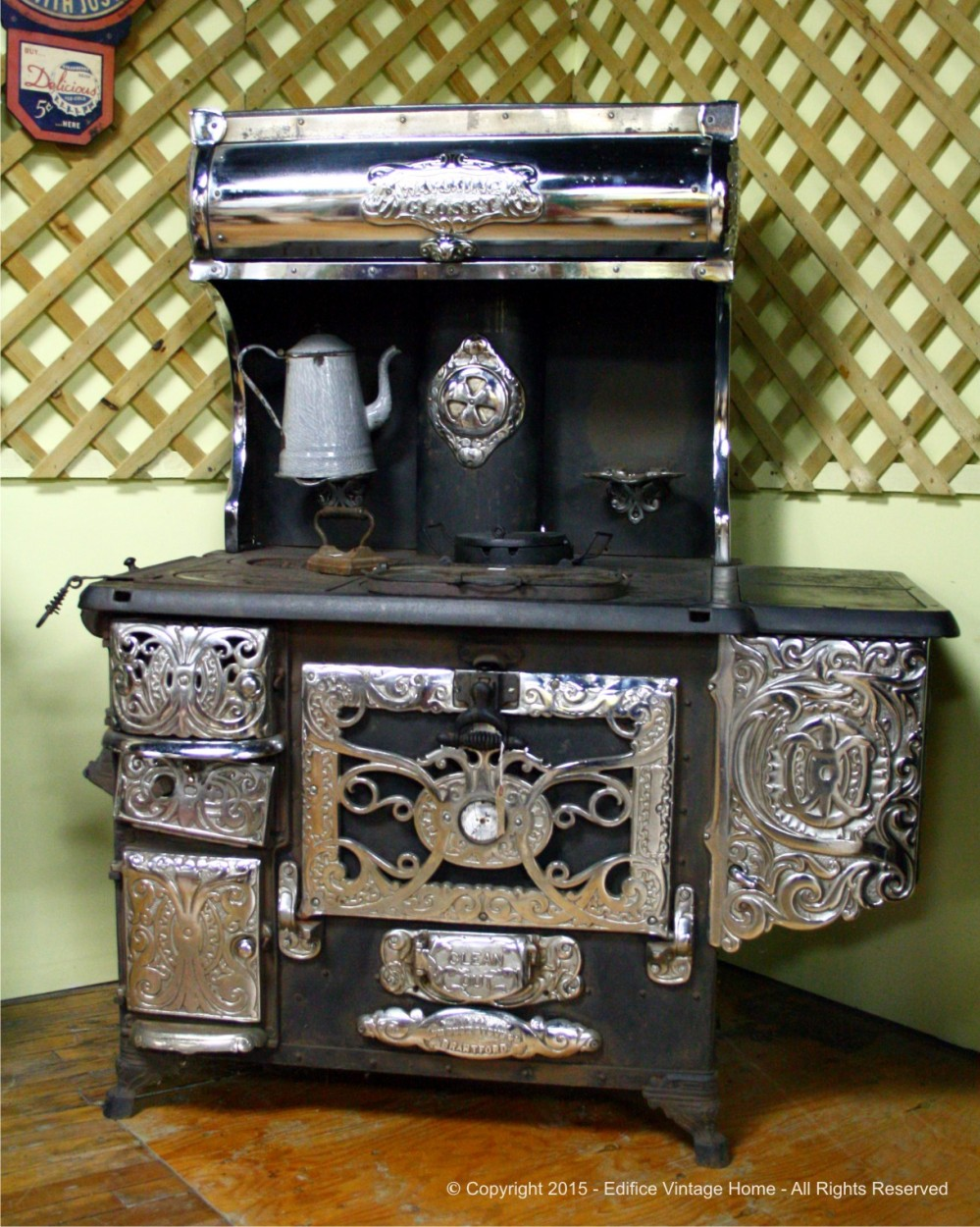 Antique Stoves Copyright 2015 Edifice 15