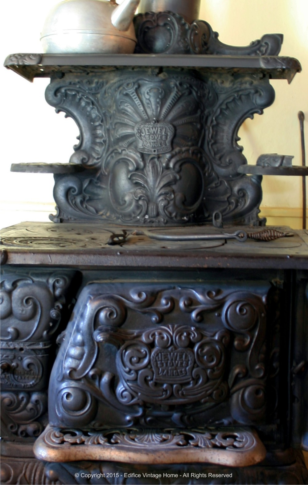 Antique Stoves Copyright 2015 Edifice 21
