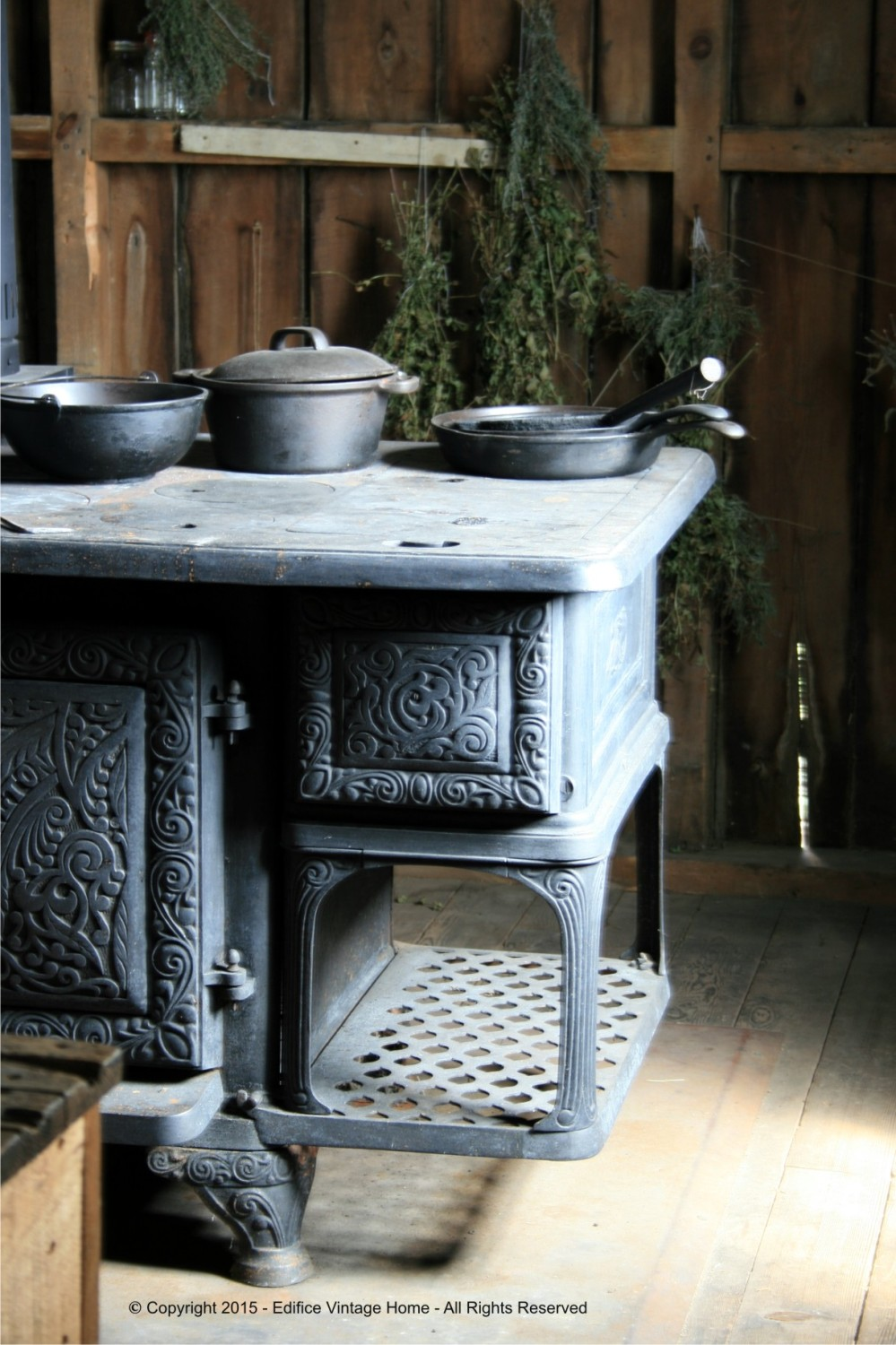 Antique Stoves Copyright 2015 Edifice 22