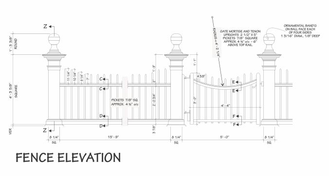 Free Picket Fence Plans 5