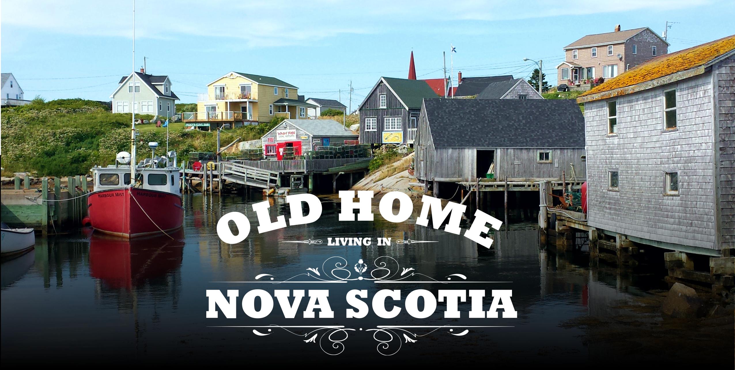 Old Home Living In Nova Scotia Header